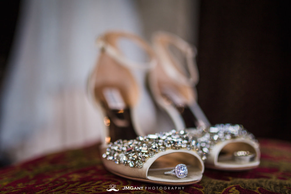 Denver Colorado Wedding | Wedding shoes | Colorado wedding photographer | © JMGant Photography | http://www.jmgantphotography.com/