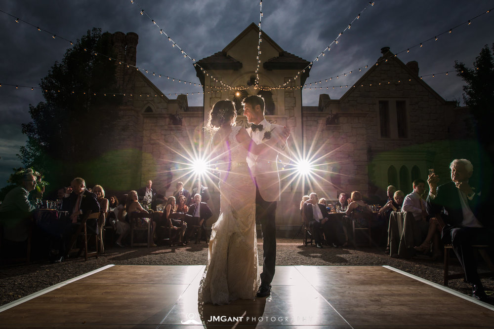 Denver Colorado Wedding | First dance | Colorado wedding photographer | © JMGant Photography | http://www.jmgantphotography.com/