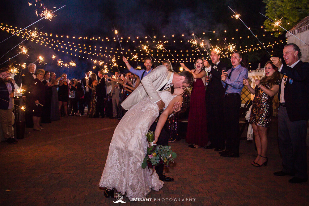 Denver Colorado Wedding | Sparkler Exit | Colorado wedding photographer | © JMGant Photography | http://www.jmgantphotography.com/