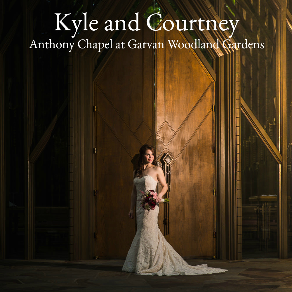 Hot Spring Arkansas Wedding | Kyle and Courtney | Anthony Chapel