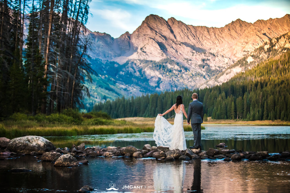 Piney River Ranch Wedding | Heather and Dan | Vail Colorado Wedding Photographer