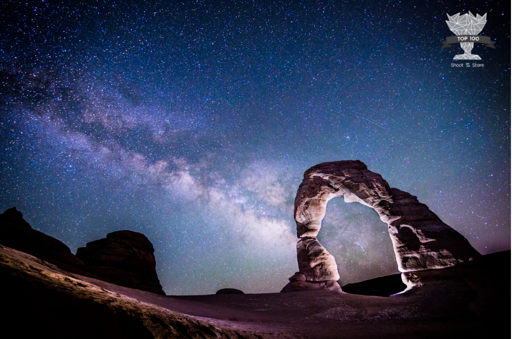 Delicate Arch Milkyway
