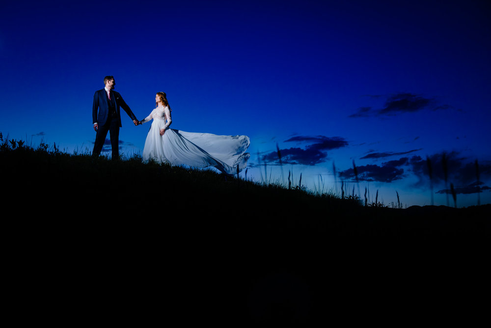 Lyons Colorado Wedding first look by Colorado wedding photographer, JMGant Photography.