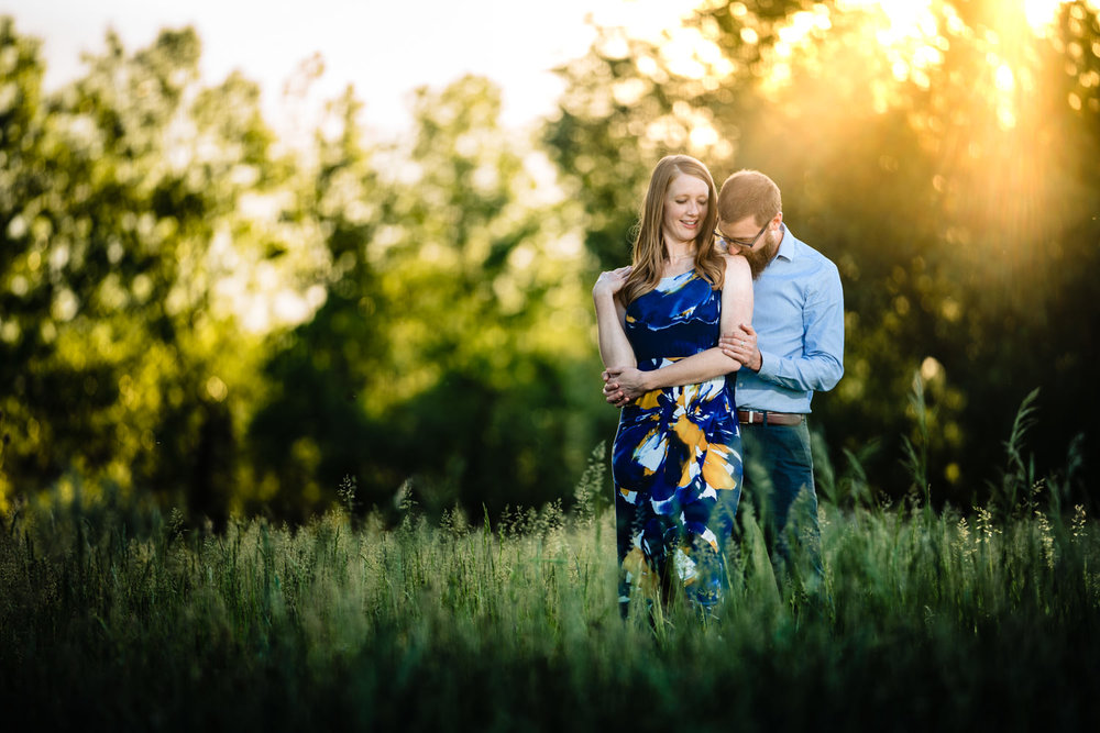 Boulder Colorado engagement photos by Boulder photographer JMGant Photography