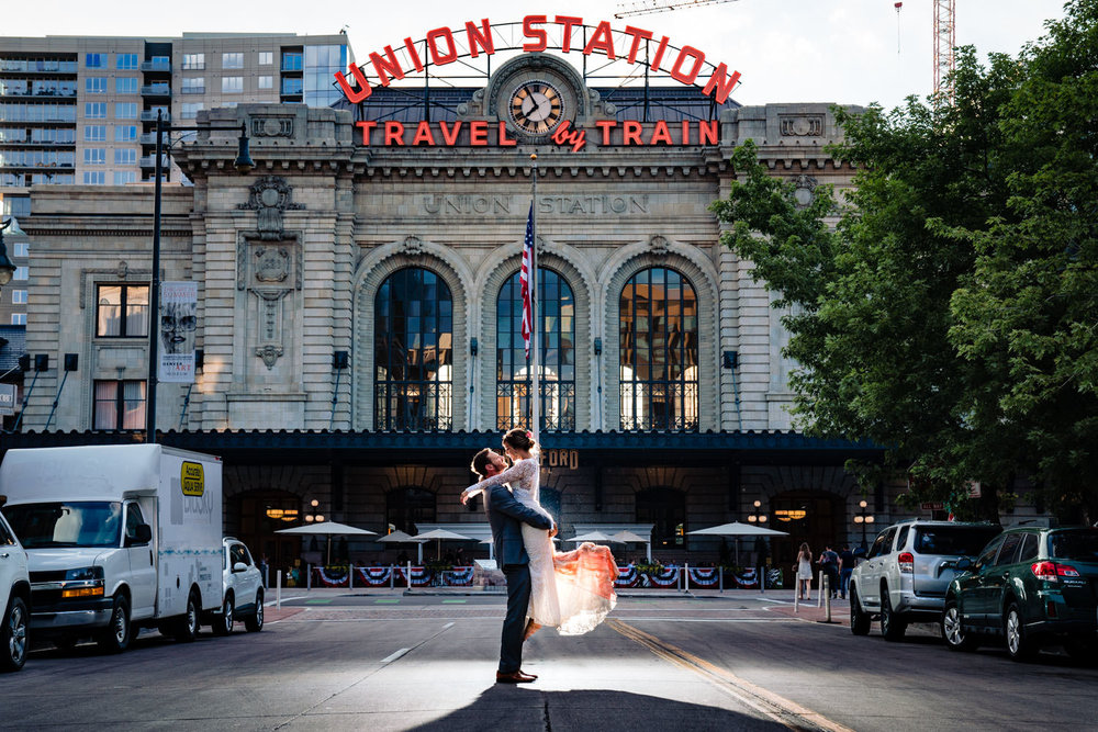 Union Station Wedding by Wedding Photographer JMGant Photography