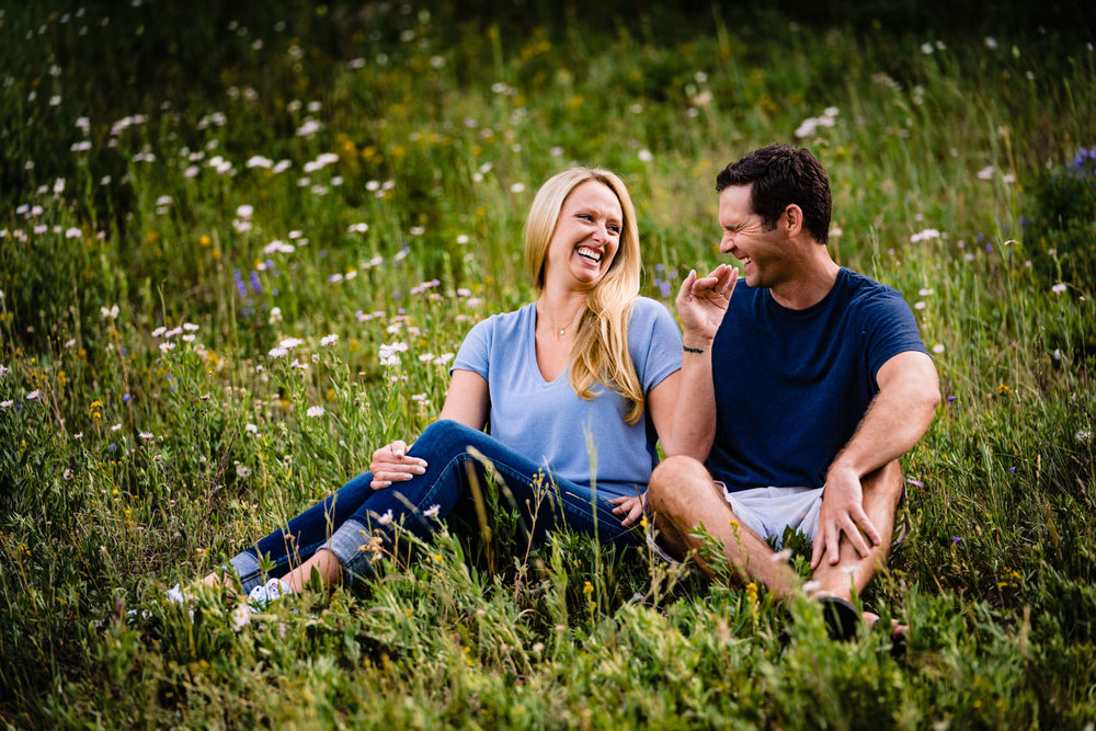 Piney River Ranch engagements by Vail Colorado wedding photographer, JMGant Photography
