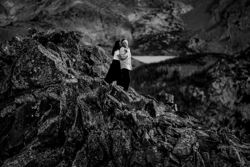 Rocky Mountain National Park Engagements | Estes Park Wedding Photographer | JMGant Photography