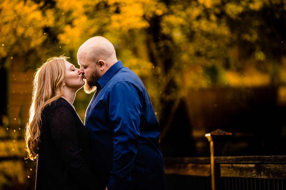 Colorado Fall Engagements | Bailey, Colorado Wedding Photographer | JMGant Photography