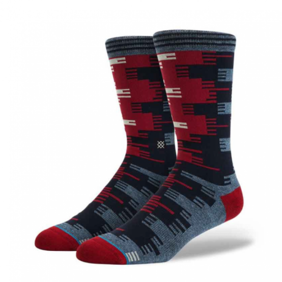 Our sock wall provides a plethora of patterns and styles, like these by Stance for $14.