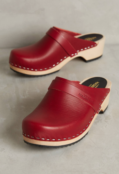 Swedish Hasbeen 'Husband' clogs