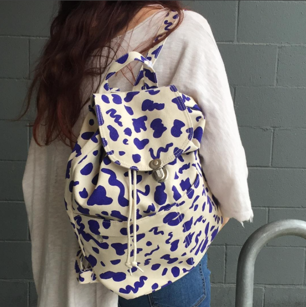 Drawstring Backpack, $42