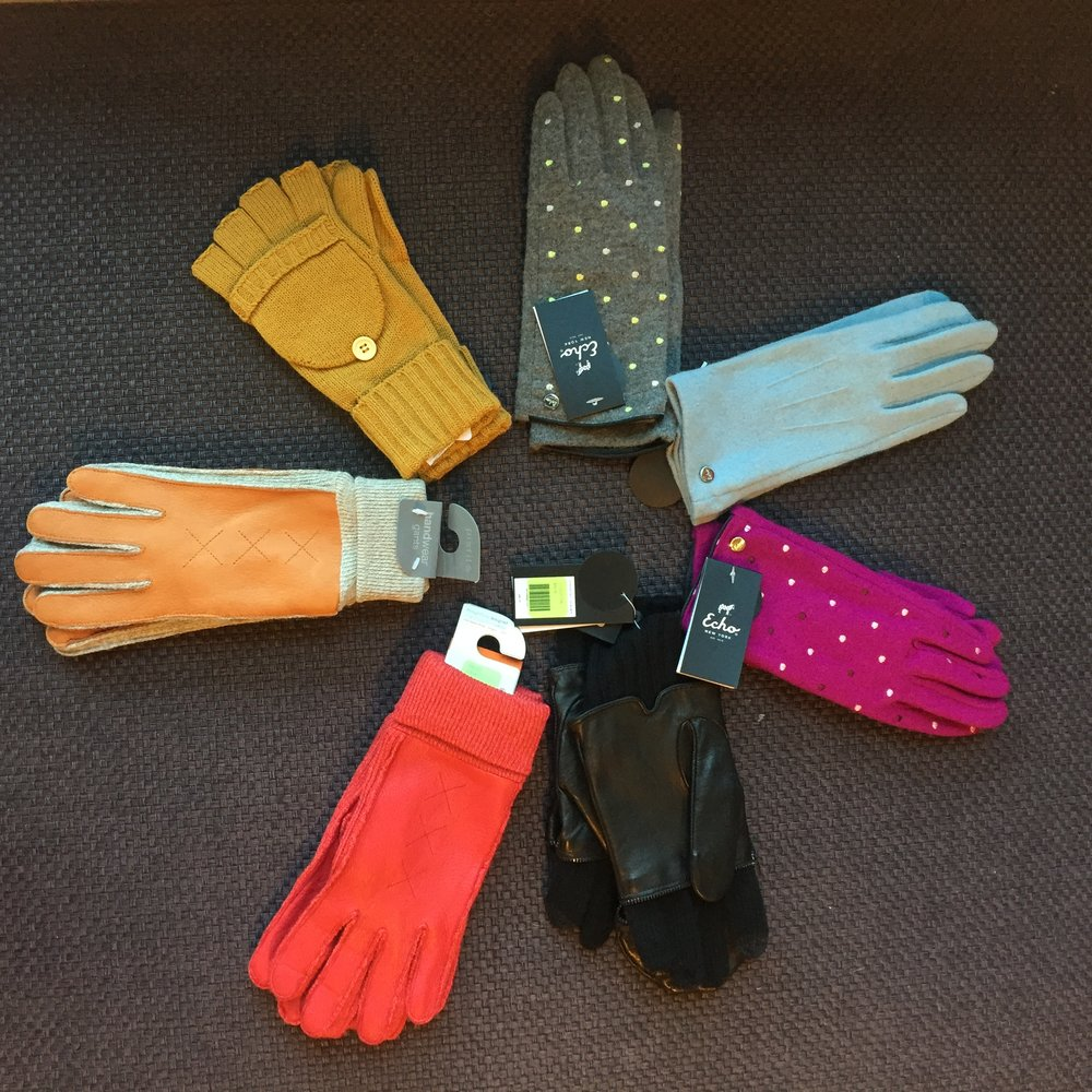 It's glove season! Share some warmth with the ones you love. Prices vary.