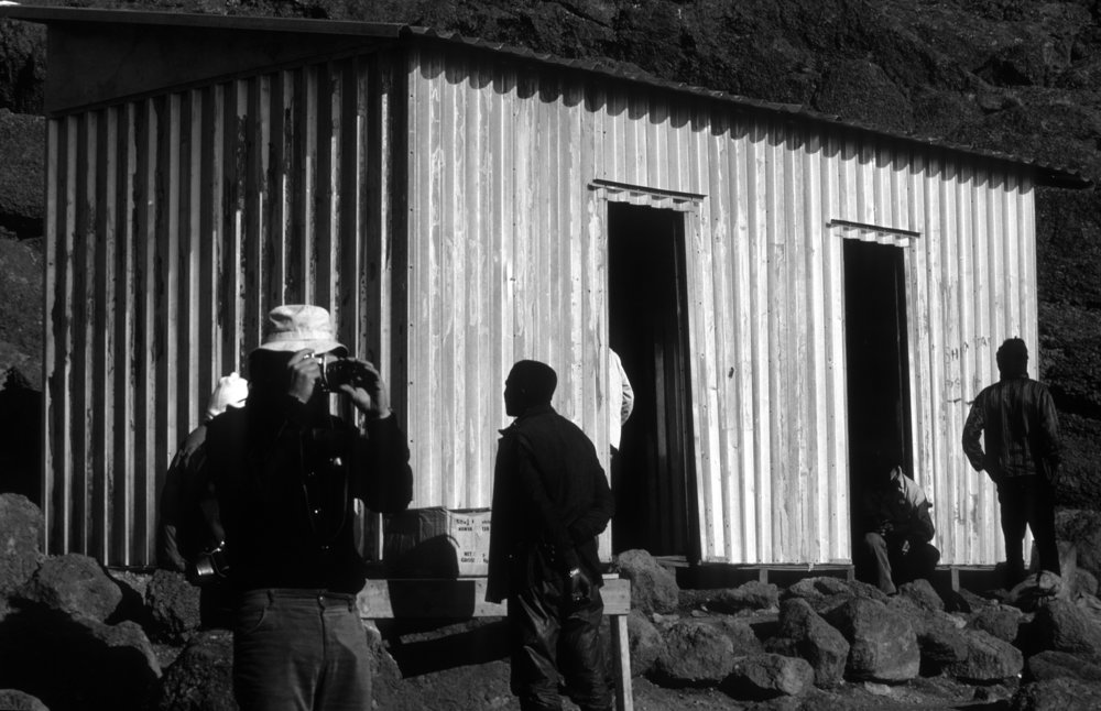 5. Corrugated metal. Old Kibo Hut at 15,520ft on Mt. Kilimanjaro. © Bill Caplan