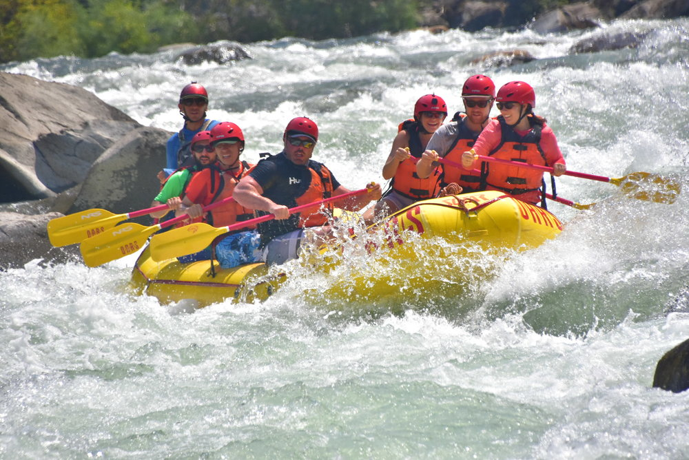 2017 Team Building Trip - Whitewater rafting on the Tuolumne River