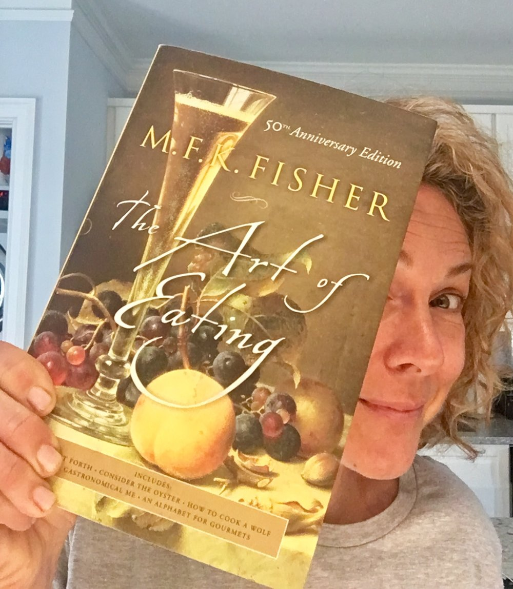 I was thrilled when I got to narrate a book about Fisher:  An Extravagant Hunger: The Passionate Years of M.F.K. Fisher!