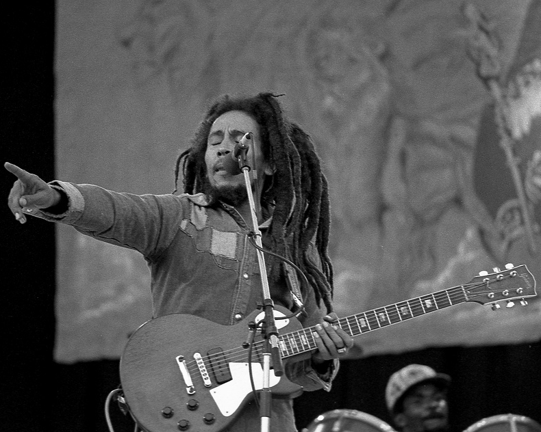 Movement of the people ... Bob Marley. Photograph: monosnaps