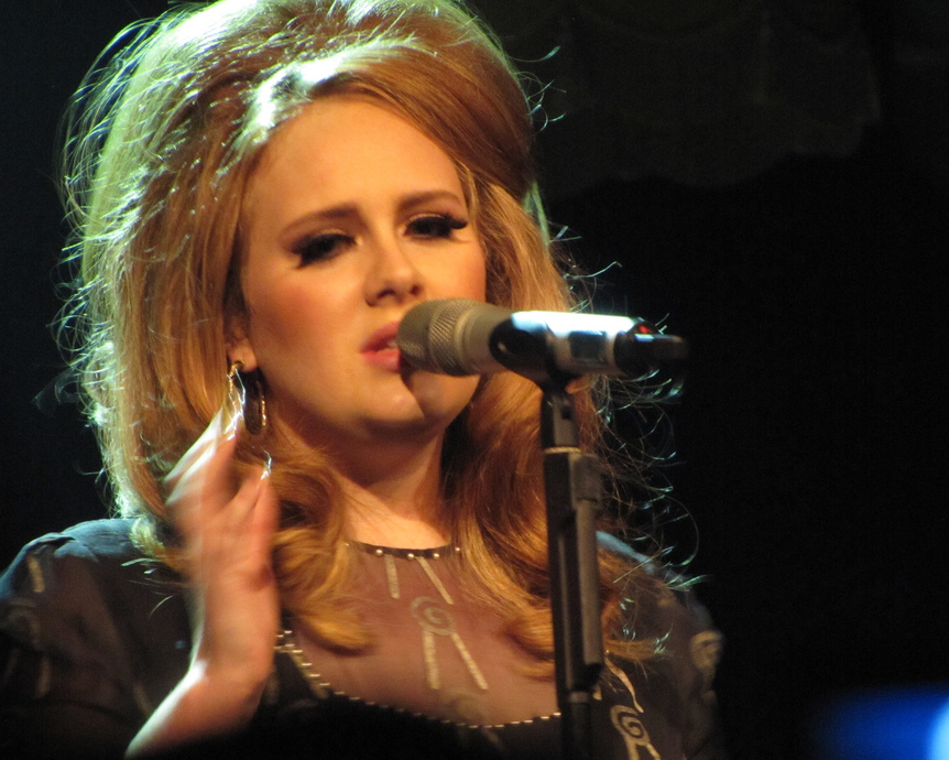 Breakups? Never again? Don't bet on it, Adele. Photograph: Tammy Breece