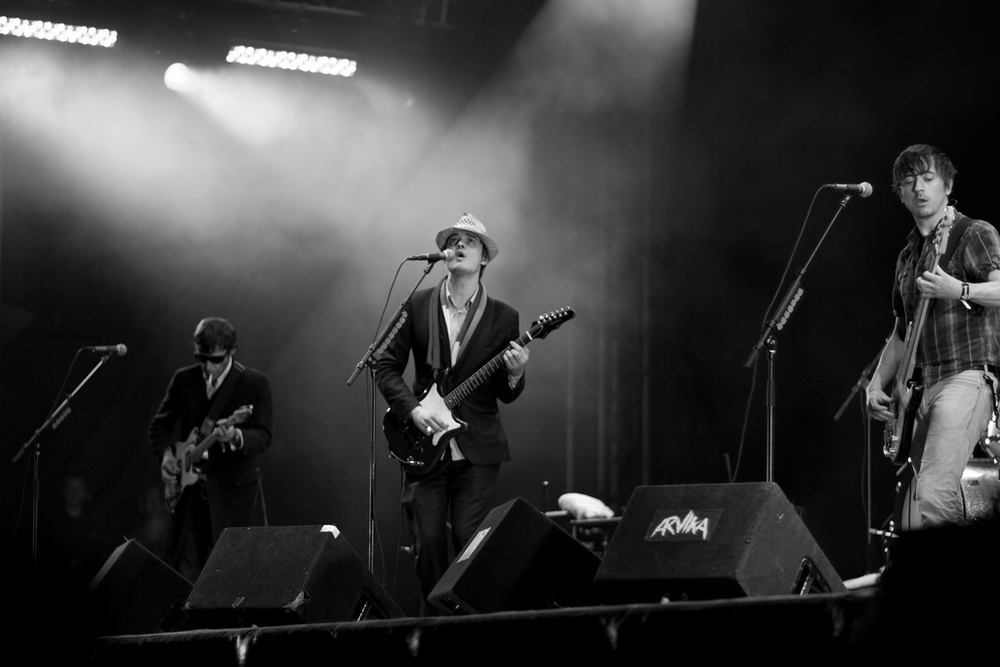 Pete Doherty fronting Babyshambles. No shortage of breakup stories ... Photograph: Patrik Ragnarsson