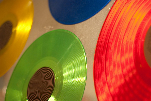 Get into the groove with vinyl or other new colourful releases in any format
