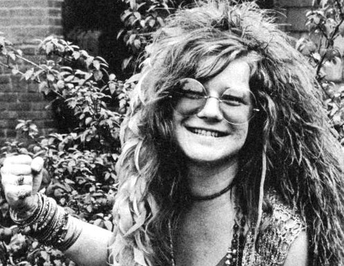 Fist of fingers ... Janis Joplin's smile comes at a price