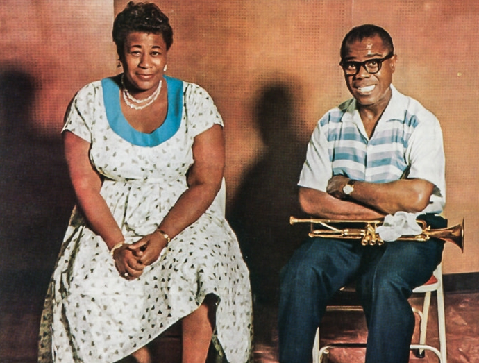 Ella and Louis. They sang together, but also did many covers apart.