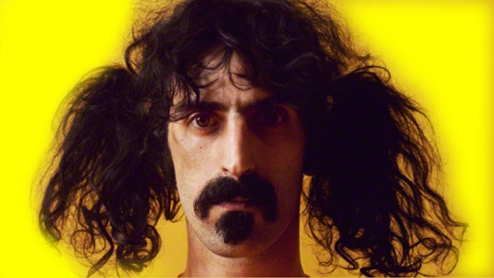 Frank Zappa ... no yellow fellow when pushing the musical envelope