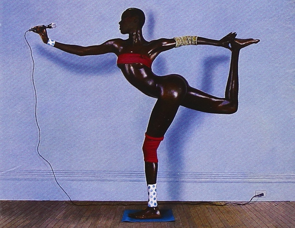 The bendy Grace Jones always knew how to throw a few curveballs at interviewers