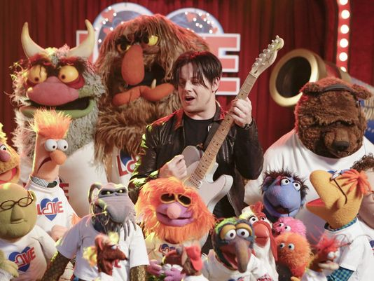 Jack White rocks out on The Muppet Show