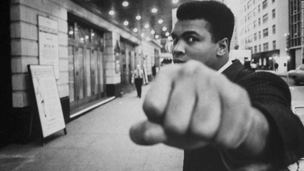 Streetwise rapper ... Muhammad Ali