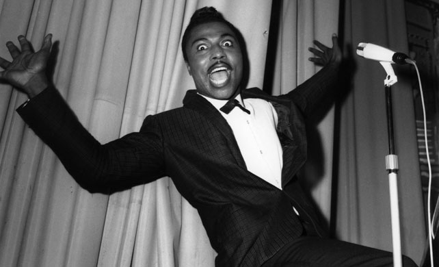 Prime screamer … Little Richard