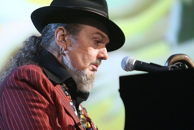 Playing it easy ... Dr John