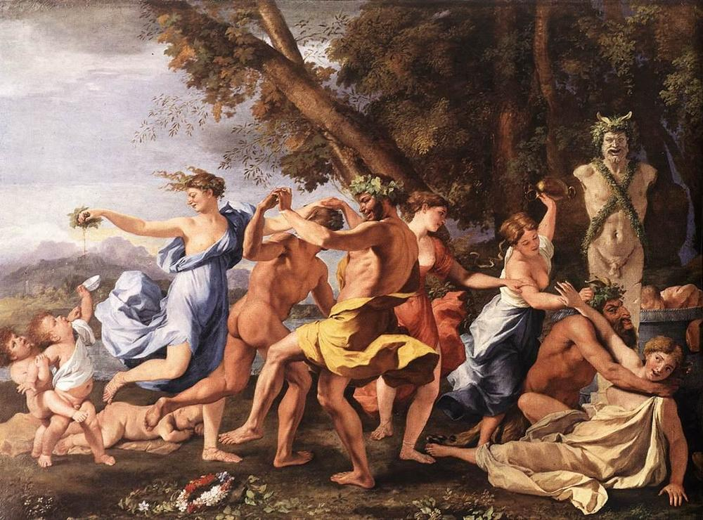 Nicolas Poussin's Bacchanalian Revel