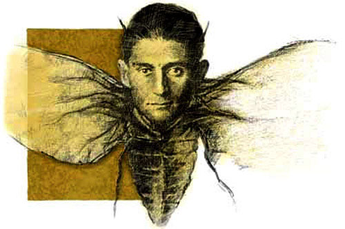 Franz Kafka ... The original fifth Beetle?