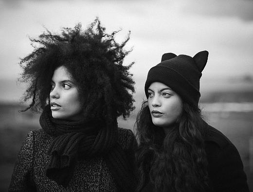 Ibeyi, aka tempestuous sisters Naomi and Lisa-Kaindé Díaz