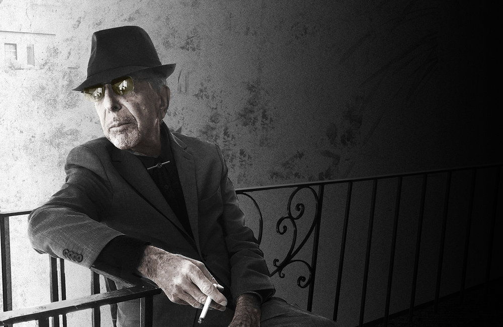 Darker, deeper ... it's Leonard Cohen. Who else?
