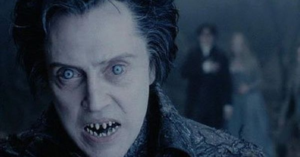 You don't want him to turn up. Christopher Walken as the headless horseman in Sleepy Hollow, er, with ... his head
