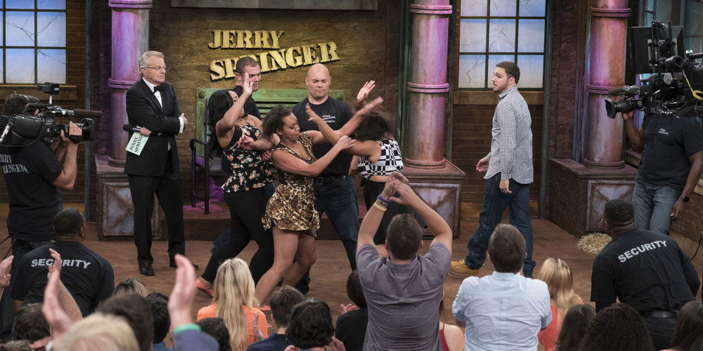 The Jerry Springer Show. Orchestrated misunderstanding?