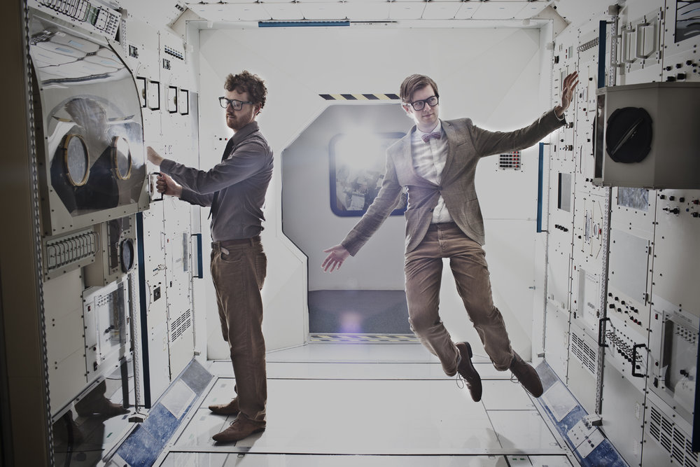 All systems are go. Public Service Broadcasting have launched a live album