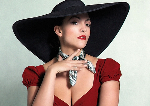 Liquid lunch? Caro Emerald can oblige.