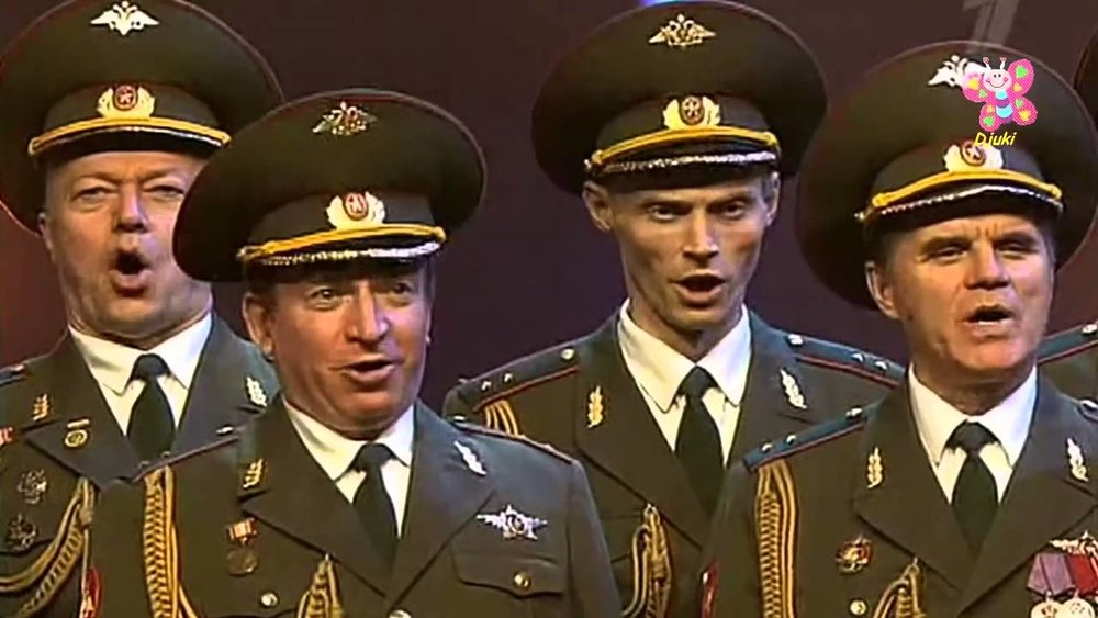 Four of the Alexandrov Red Army Ensemble's finest