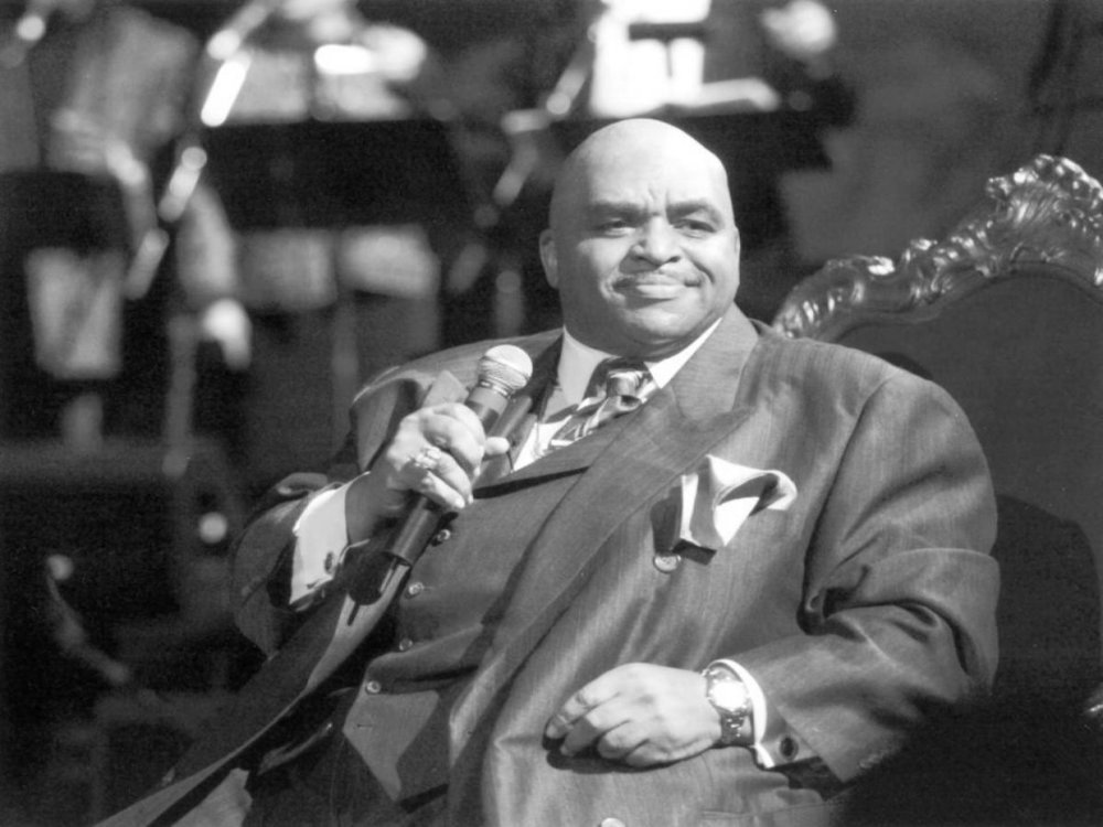 The king of soul on his throne: Solomon Burke