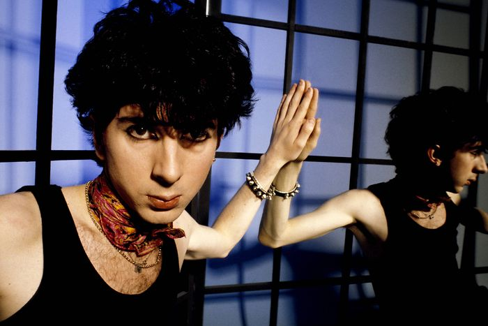 Marc Almond in the Soft Cell period of 1982