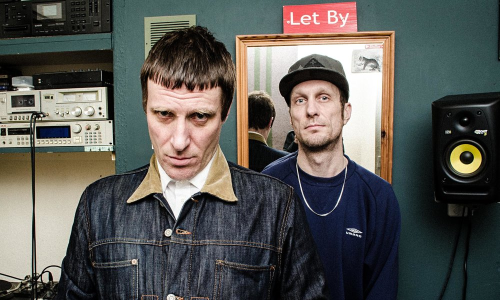 Well fuckin' tasty … Sleaford Mods' new album English Tapas is out this Friday on Rough Trade