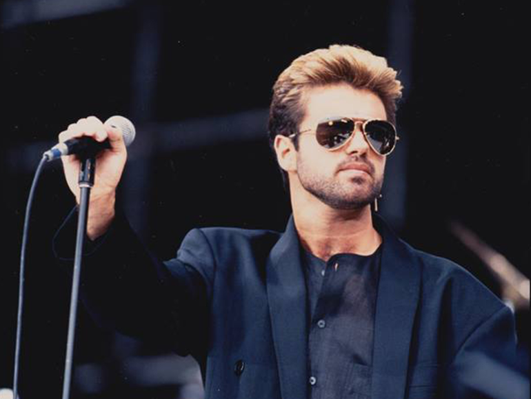 Turning a final corner … George Michael