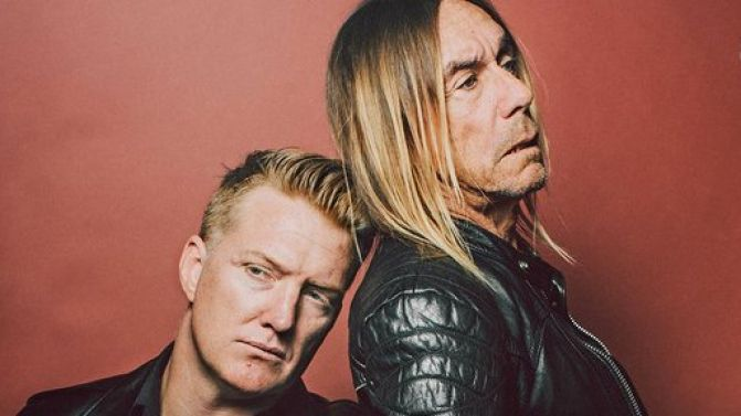 Day of rest? Iggy Pop and Josh Homme