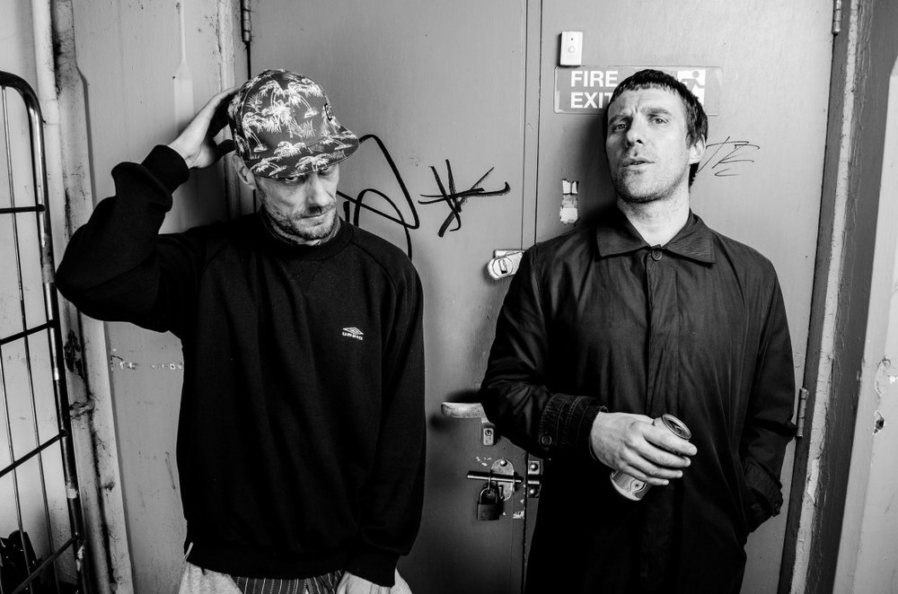 Sleaford Mods ... Andrew Fearn (left) and Jason Williamson