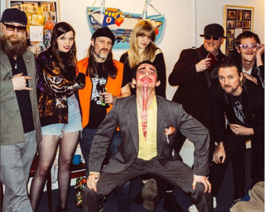 Anarchy in the UK: Johnny Rocket and friends from Moonlandingz