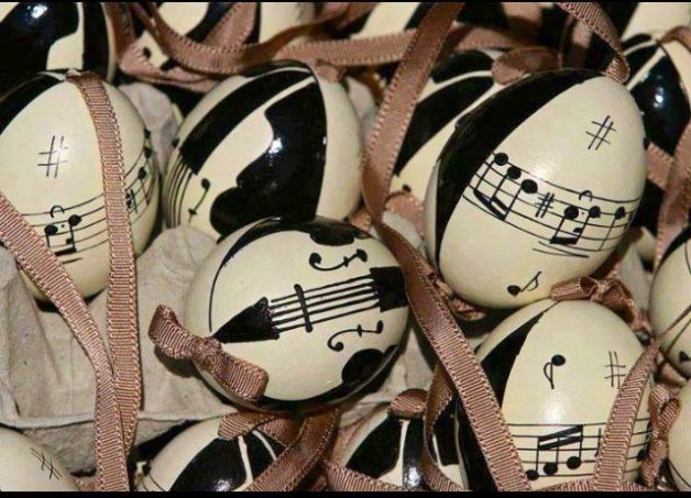 Easter egg songs aren't usually made of chocolate