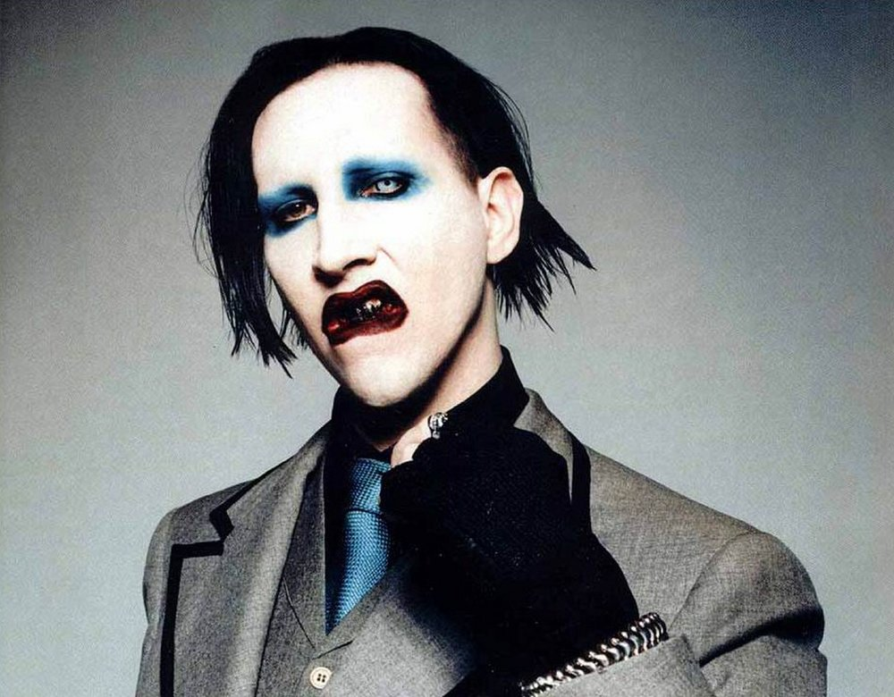 Marilyn Manson: likes to hide a few surprises