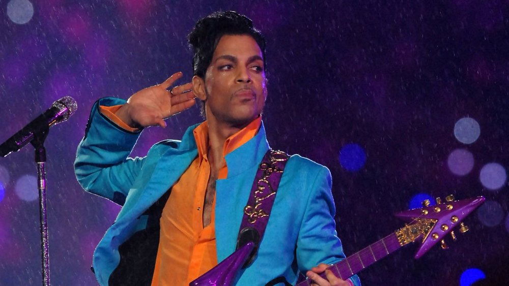 Prince reigning purple in 2007